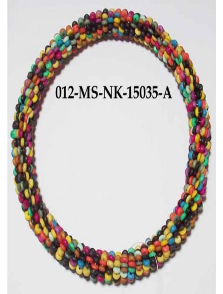 Multi Colour Bone Necklace