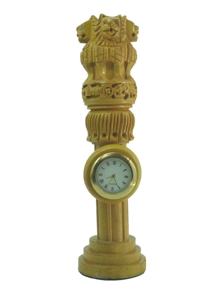 Ashoka Pillar Clock Stand