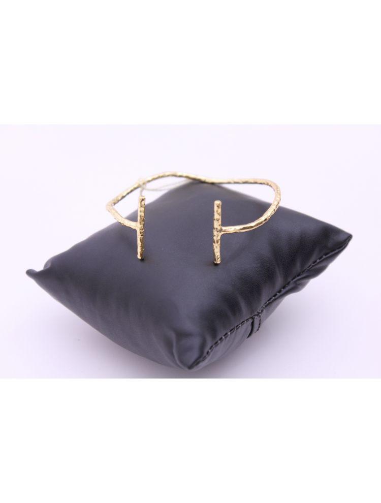 Gold Plated Brass Hand Cuff