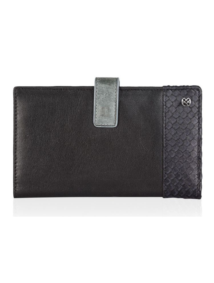 Black Disambi Travel Wallet