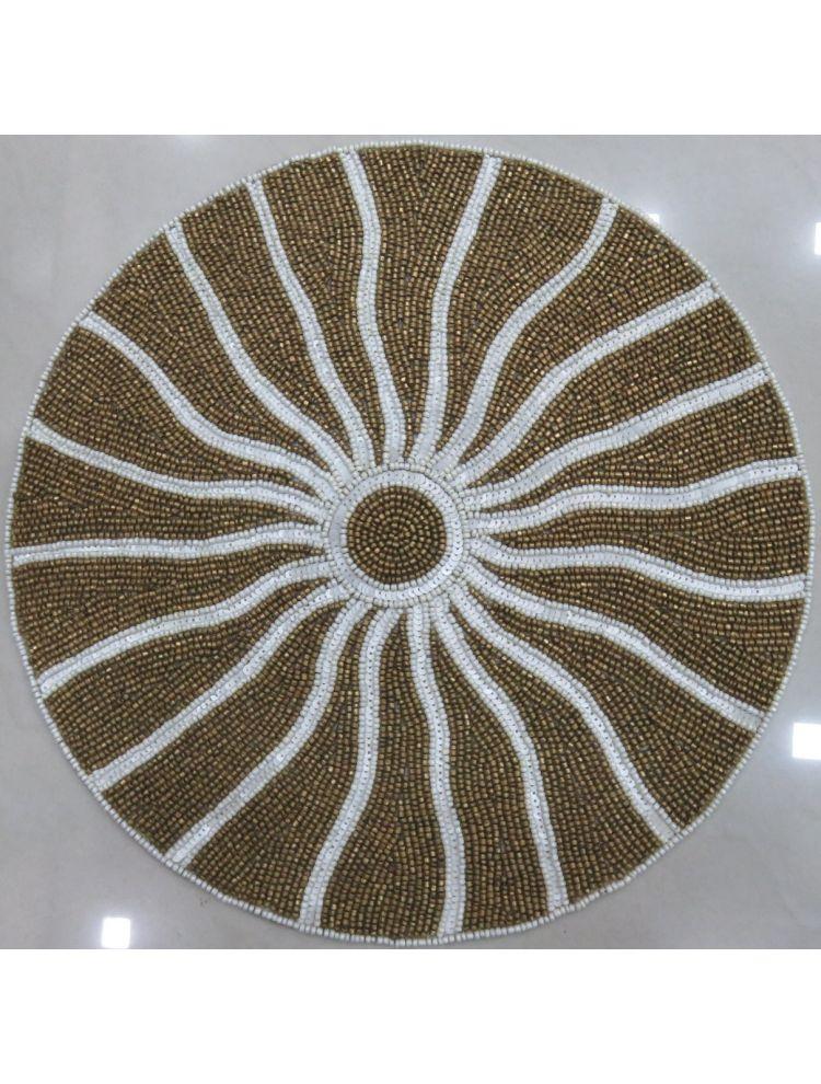Sun Design Beaded Placemat