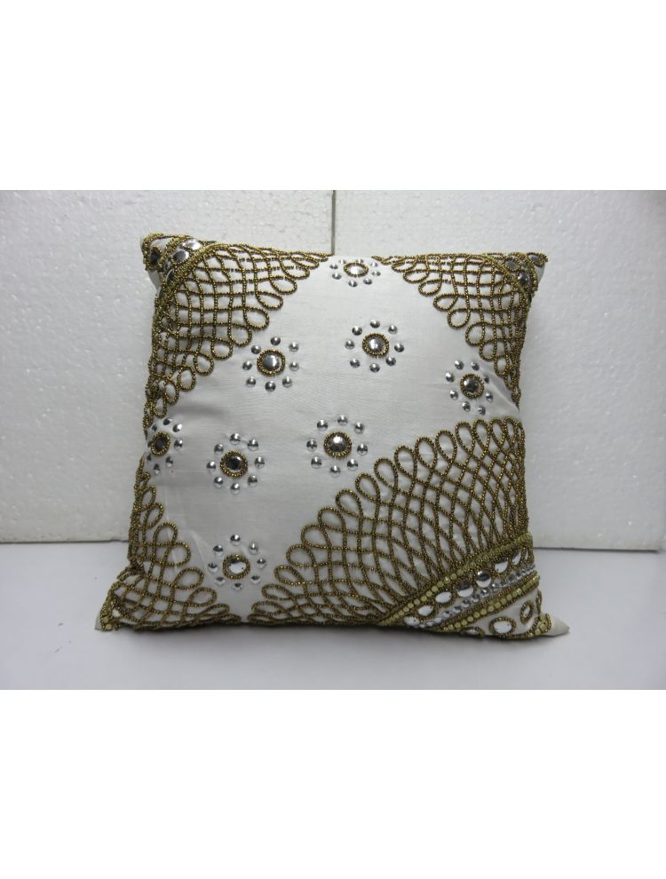 Corners Beaded Cushion Cover