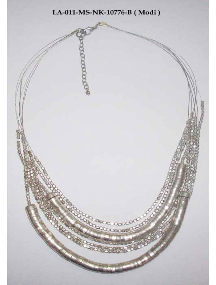 Metal Double Necklace