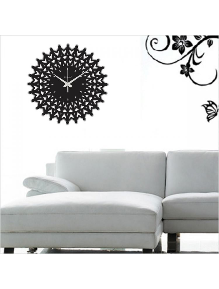 Web World - Harmony Wall Clock (Black)