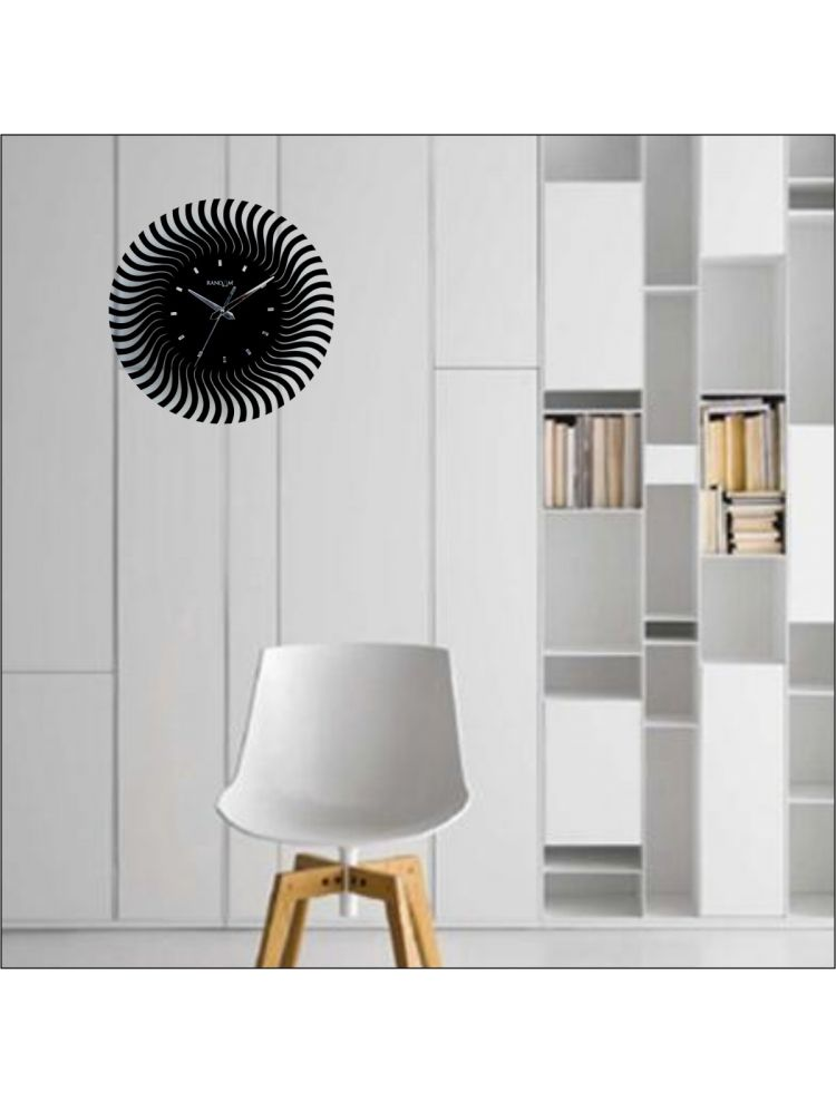 Web World - Illusion Wall Clock (Black)