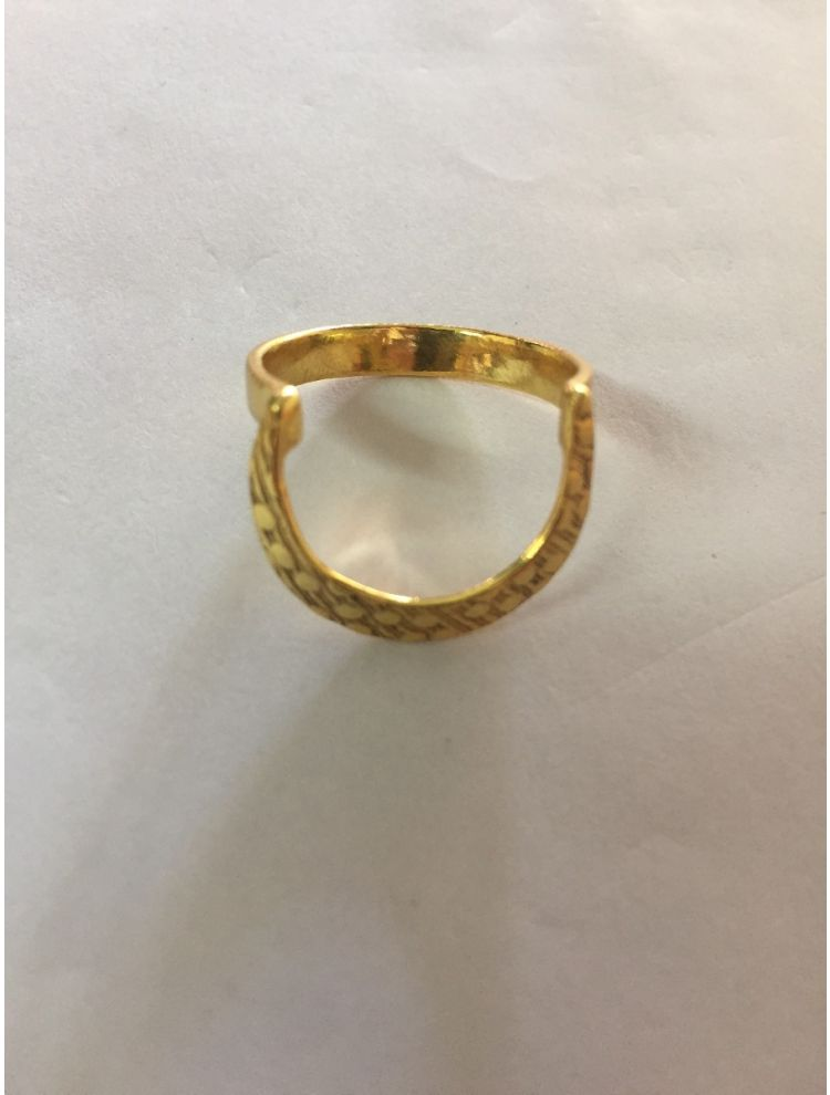 Golden Brass Beautiful Ring