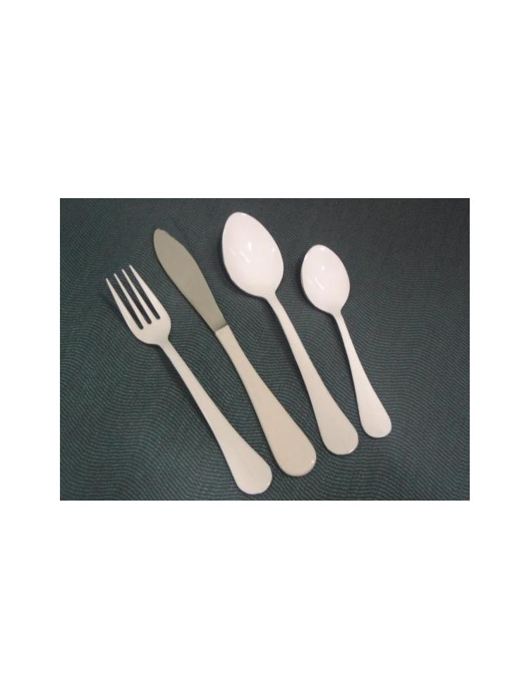 White Stainless Steel Chopping & Serving Cutlery