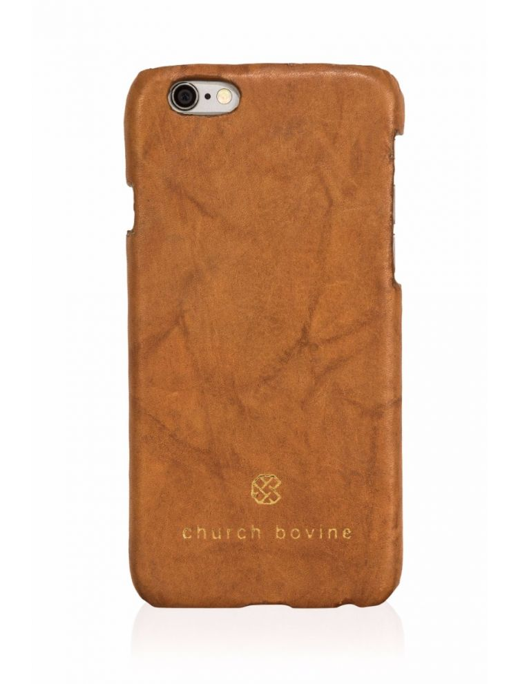 Tan Antique Mobile Case
