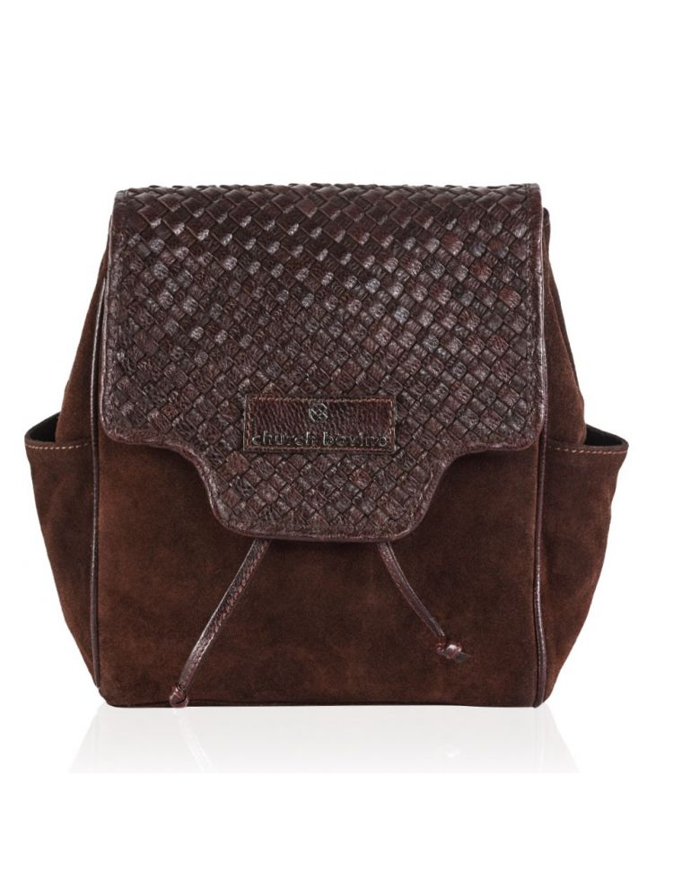 Two Tone Vintage Backpack Small